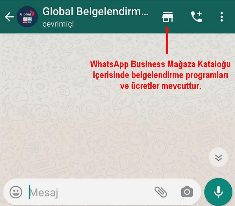 WhatsApp işletme hesabı katalog